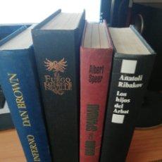 Libros: LOTE 4 LIBROS. Lote 253500015