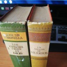 Libros: LOTE JOSE MARIA GIRONELLA. Lote 253501705
