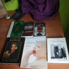 Libros: LOTE VARIADO 6 LIBROS. Lote 253507380