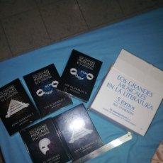 Libros: LOS GEANDES MUSICALES DE LA LITERATURA. COLECCIÓN 5 TOMOS CLUB INTERNACIONAL DEL LIBRO. Lote 253635900