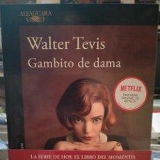 Livros: WALTER TEVIS. GAMBITO DE DAMA . ALFAGUARA. Lote 254640650
