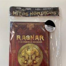 Libros: MITOLOGÍA NÓRDICA RAGNAR Y LA DONCELLA ESCONDIDA. Lote 256191520