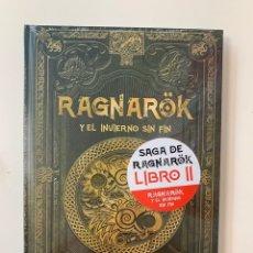 Libros: MITOLOGÍA NÓRDICA RAGNARÖK Y EL INVIERNO SIN FIN - NUEVO. Lote 257433010