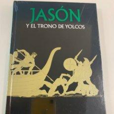 Libri: MITOLOGÍA - JASÓN Y EL TRONO DE YOLCOS - NUEVO. Lote 258221040