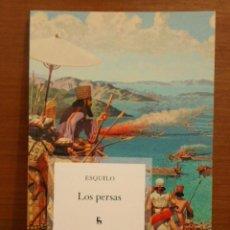 Libros: ESQUILO - LOS PERSAS - BIBLIOTECA BÁSICA GREDOS 2010 (1ª EDICIÓN). Lote 259948065