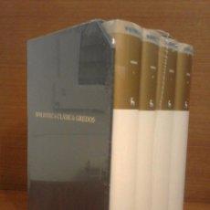 Libros: VIRGILIO Y HORACIO - OBRAS (4 TOMOS + ESTUCHE) BIBLIOTECA CLÁSICA GREDOS 2008 - PRECINTADO. Lote 261115185