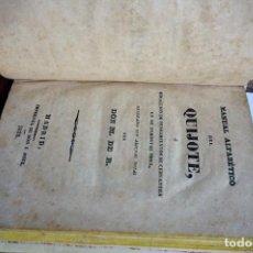 Libros: MANUAL ALFABETICO DEL QUIJOTE O COLECCION DE PENSAMIENTOS DE CERVANTES,EN SU INMORTAL OBRA.M. DE R.. Lote 261224315