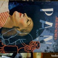 Libros: HAMSUN KNUT.PAN. LA OBRA CUMBRE DEL PREMIO NOBEL,4ª.CUBIERTA DE RUIZ CASTILLO.. Lote 261544440
