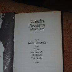Libros: GRANDES NOVELISTAS MUNDIALES DE PLANETA 15 LIBROS. Lote 262002450