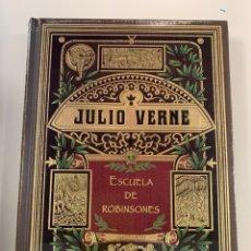 Libros: COLECCIÓN JULIO VERNE ESCUELA DE ROBINSONES. Lote 262420530