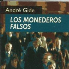 Libros: LOS MONEDEROS FALSOS / ANDRÉ GIDE.. Lote 262461130