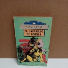 Libros: ANÓNIMO - EL LAZARILLO DE TORMES - EDIMAT LIBROS. Lote 262601920