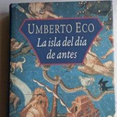 Libros: LA ISLA DEL DÍA DE ANTES. Lote 262675910