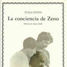 Libros: LA CONCIENCIA DE ZENO / ITALO SVEVO. Lote 263023050