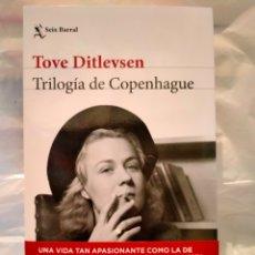 Libros: TOVE DITLEVSEN. TRILOGÍA DE COPENHAGUE. Lote 289366313