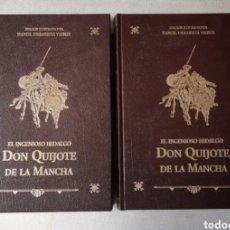 Libros: EDICIÓN ESPECIAL NUMERADA DE DON QUIJOTE DE LA MANCHA. ROGAMOS LEER BIEN LAS CONDICIONES ANTES DE PU. Lote 269376313
