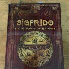 Libros: SIGFRIDO Y LA MALDICIÓN DE LOS NIBELUNGOS. Lote 269750543