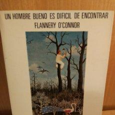 Libros: FLANNERY O'CONNOR. RELATOS. Lote 270076773