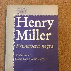 Libros: PRIMAVERA NEGRA. Lote 270092623