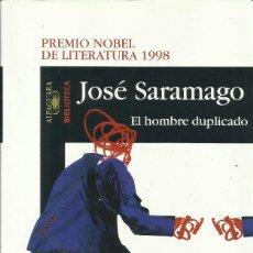 Libros: EL HOMBRE DUPLICADO / JOSÉ SARAMAGO.. Lote 270359233
