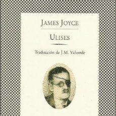 Libros: ULISES /JAMES JOYCE. Lote 270587668