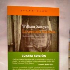 Livros: WILLIAM SAROYAN.LA COMEDIA HUMANA .ACANTILADO. Lote 271438043