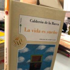 Libros: CALDERÓN DE LA BARCA LA VIDA ES SUEÑO. Lote 276822438