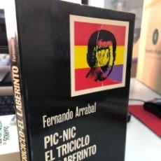 Libros: PIC-NIC EL TRICICLO EL LABERINTO - FERNANDO ARRABAL - CATEDRA. Lote 276822913