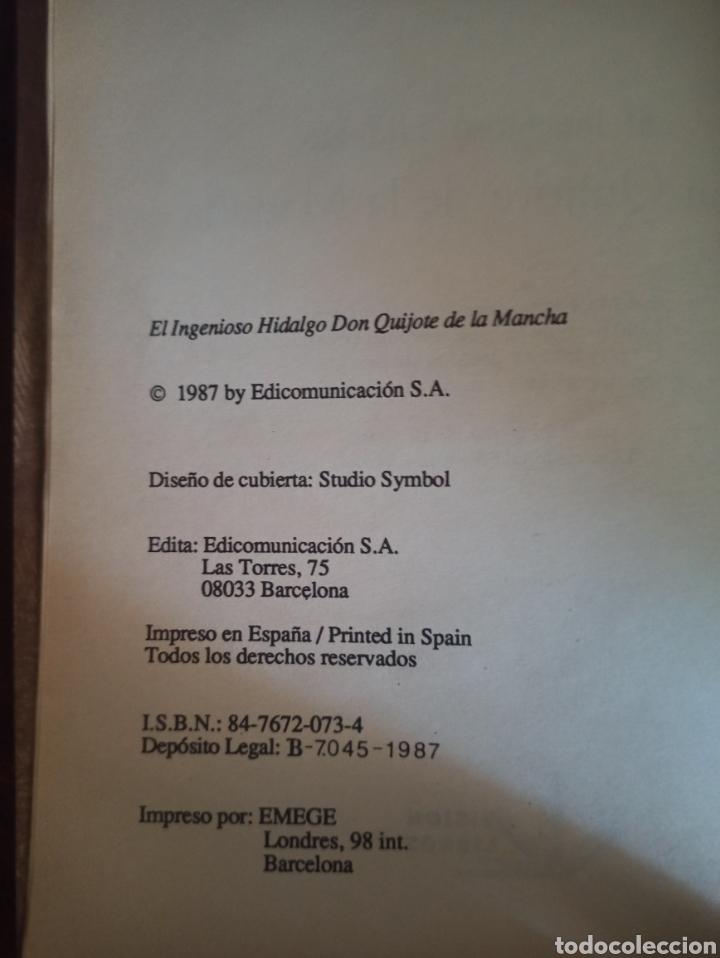 Libros: El ingenioso hidalgo Don Quijote de la Mancha ilustrado por Doré. Miguel de Cervantes. - Foto 3 - 277593448