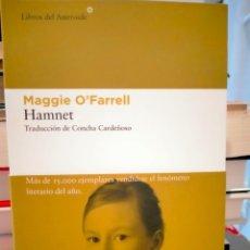 Libros: MAGGIE O'FARRELL. HAMNET .LIBROS DEL ASTEROIDE. Lote 277851693