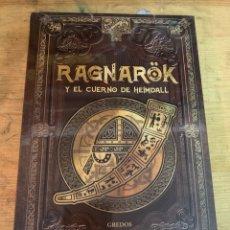 Libros: MITOLOGÍA NÓRDICA RAGNARÖK Y EL CUERNO DE HEIMDALL. Lote 278828723