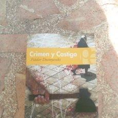 Libros: CRIMEN Y CASTIGO - FIÓDOR DOSTOYEVSKI. Lote 278864923