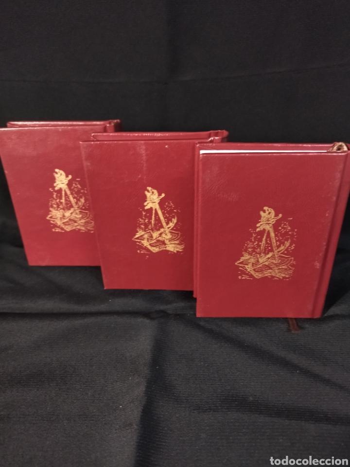 Libros: Lote de tres libros don Quijote de la mancha ,de pequeñas dimensiones , - Foto 4 - 283724548