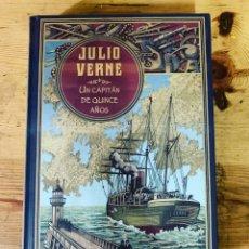 Libros: COLECCIÓN JULIO VERNE UN CAPITÁN DE QUINCE AÑOS- LIBRO NUEVO. Lote 284718443