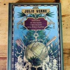 Libros: COLECCIÓN JULIO VERNE AVENTURAS DE TRES RUSOS Y TRES INGLESES EN EL ÁFRICA AUSTRAL - LIBRO NUEVO. Lote 284719288