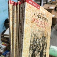 Livros: DON QUIJOTE DE LA MANCHA - 5 TOMOS - BIBLIOTECA EL SOL - MIGUEL DE CERVANTES. Lote 285688128