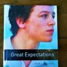 Libros: GREAT EXPECTATIONS. CHARLES DICKENS. NUEVO PRECINTADO. NUEVO A ESTRENAR. WITH AUDIO DOWLOAD. MURCIA. Lote 285736168