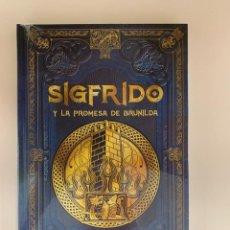 Libros: COLECCIÓN MITOLOGÍA NÓRDICA SIGFRIDO Y LA PROMESA DE BRUNILDA - NUEVO. Lote 287345358