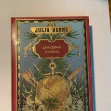 Libros: COLECCIÓN JULIO VERNE UNA CIUDAD FLOTANTE - NUEVO. Lote 287349363