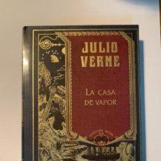 Libros: COLECCIÓN JULIO VERNE LA CASA DE VAPOR - NUEVO. Lote 287350298