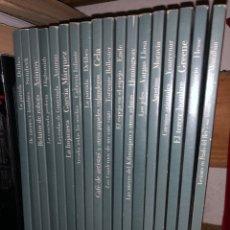 Libros: COLECCIÓN GRANDES AUTORES BIBLIOTECA UNIVERSAL CAM VAZQUEZ MONTALBAN DELIBES CELA VARGAS LLOSA. Lote 287564603