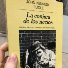 Libros: LA CONJURA DE LOS NECIOS - JOHN KENNEDY TOOLE - ANAGRAMA. Lote 287788958