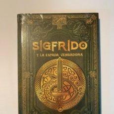 Libros: COLECCIÓN MITOLOGÌA NÓRDICA SIGFRIDO Y LA ESPADA VENGADORA. Lote 287977648