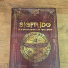 Libros: COLECCIÓN MITOLOGÍA SIGFRIDO Y LA MALDICIÓN DE LOS NIBELUNGOS - NUEVO. Lote 288656588