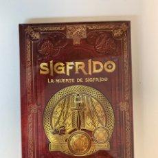 Libros: COLECCIÓN MITOLOGÍA NÓRDICA SIGFRIDO LA MUERTE DE SIGFRIDO- NUEVO. Lote 289017123