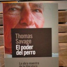 Livres: THOMAS SAVAGE. EL PODER DEL PERRO .ALIANZA. Lote 289367413