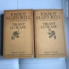 Libros: TIRANT LO BLANC I Y II EDICIONS 62 LA CAIXA. Lote 289590098