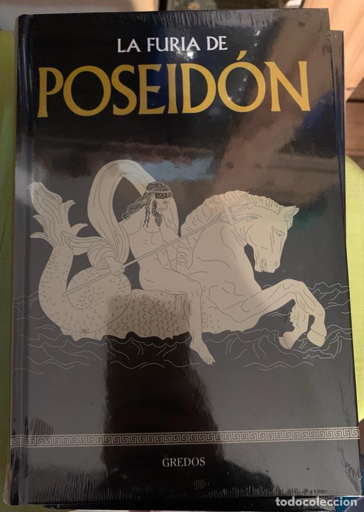 COLECCION MITOLOGÍA GREDOS LA FURIA DE POSEIDÓN - NUEVO (Libros Nuevos - Literatura - Narrativa - Clásicos Universales)