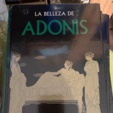 Libros: COLECCIÓN MITOLOGÍA GREDOS - LA BELLEZA DE ADONIS - NUEVO. Lote 289837798