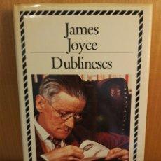 Libros: JAMES JOYCE. DUBLINESES. Lote 293913283
